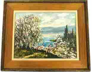 Ricciardi Landscape Oil Painting