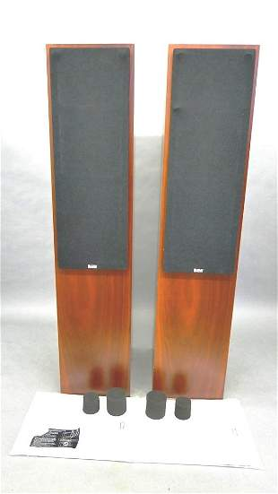 Pair Of B&W CM4 Tower Speakers