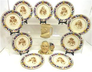 Allied Nations Plates & Toby Jugs