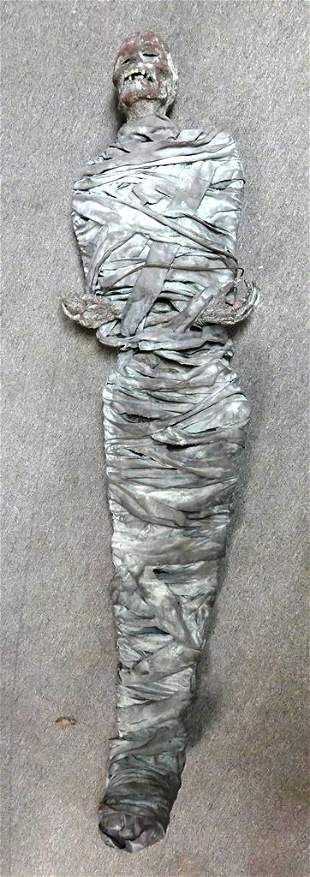 Vintage Mummy Store Display Figure