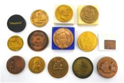 Collection of Vintage Desk Medals