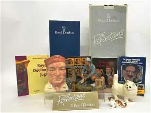 Royal Doulton Toby Mug & Figurines