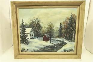 Boyertown Pa. Artist Beulah Geiger Oil Painting