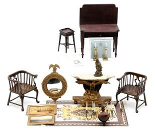Federal Dollhouse Furniture & Accessories