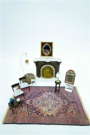 Dollhouse French Empire Parlor Furniture