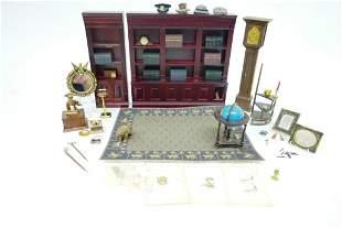 Dollhouse Study Furniture & Accessories