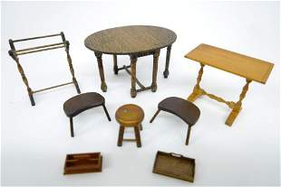 Assorted Dollhouse Artisan Furniture