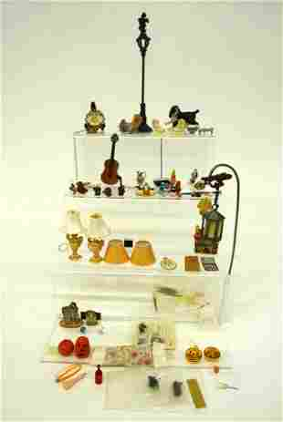 Dollhouse Lamps & Assorted Accessories
