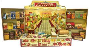 Wolverine Litho Tin Toy Grocery Story