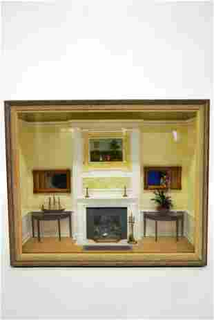 Therese Bahl Furnished Room Box Dollhouse