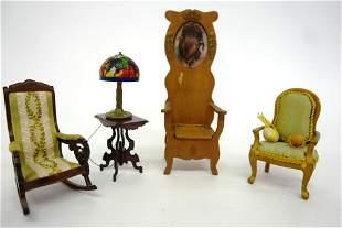 Dollhouse Artisan Parlor Furniture
