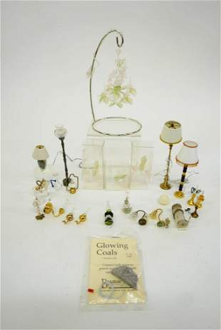 Assorted Dollhouse Miniature Lighting