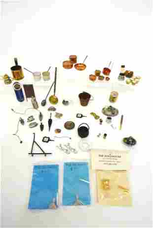 Assorted Dollhouse Metal Accessories