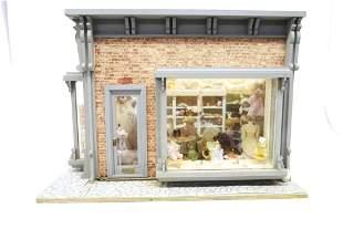Dress Shop Room Box Dollhouse