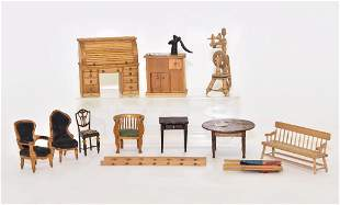 Older Hand Made Furniture Miniatures