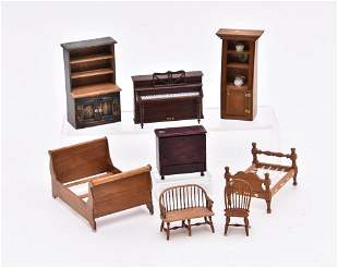 """Clinger, Settee, Dick,, others  1/2"""" Scale  Miniatures"""