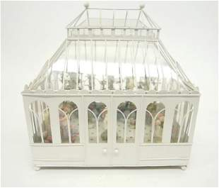 Furnished Solarium Room Box Dollhouse