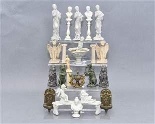 Dollhouse Statues, Busts, Fountains, Pedestals