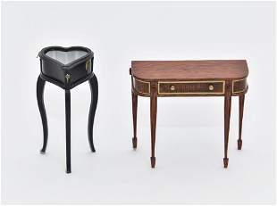 Jim Watt Artisan Dollhouse Tables