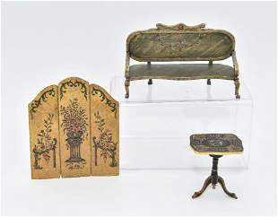 Perkins, Torre & Midgett Painted Furniture Miniatures