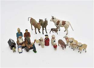 Antique German Miniature Animals & Figures