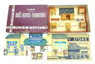 Vintage Boxed StromBecker Dollhouse Furniture