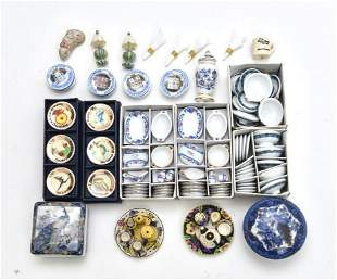 Dollhouse Commercial China & Porcelain Accessories