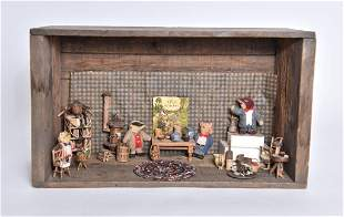Donna Wormwood Wind In The Willows Room Box