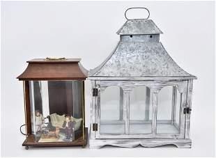 Two Dollhouse Room  Box