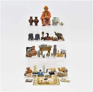 India Style Dollhouse Miniature Accessories