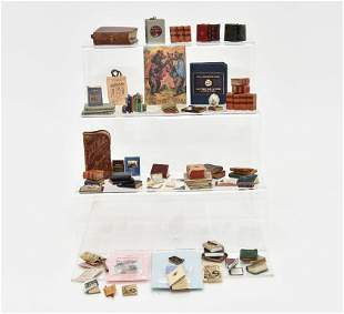 Dollhouse Book Miniatures