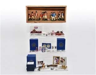 English Royalty Dollhouse Miniatures