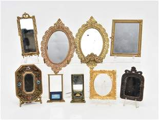 Assorted Dollhouse Mirror Miniatures