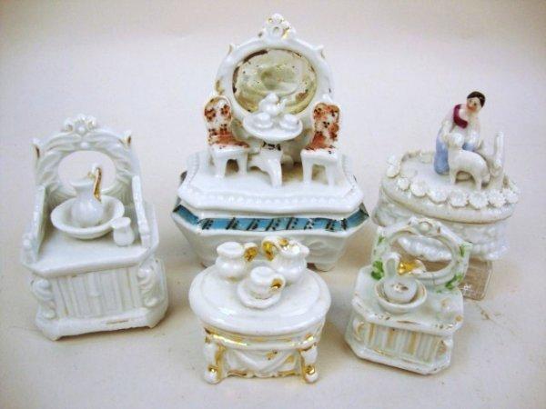 Porcelain Trinket Boxes