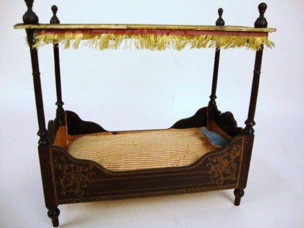 Biedermeier Full Tester Bed