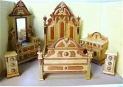 Fantastic Merchandise Victorian Bedroom Suite