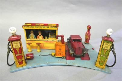 Marx Roadside Gas Station