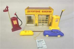 Vintage Keystone Garage