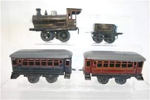 Bing Locomotive, Tender, 2 Coach Cars