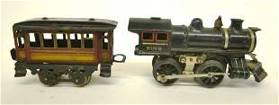 Bing Die Cast Locomotive, Tender, Coach