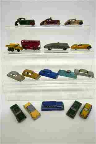 Vintage Die Cast Cars and Trucks