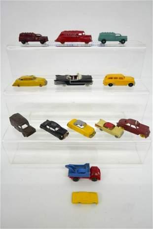 Plastic Trucks and Cars