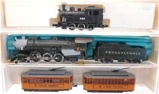 N Gauge Locomotives and Trolley