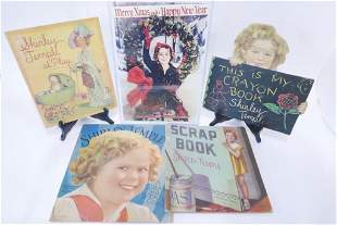 Four Large Shirley Temple Books