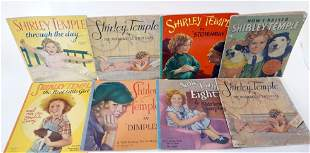 Eight Shirley Temple Books