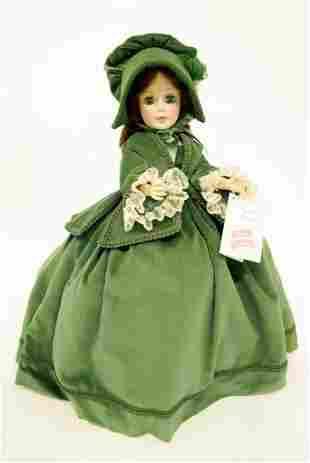 "Madame Alexander Scarlett Doll 21"""