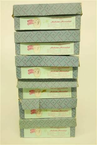 Madame Alexander First Ladies Series II Original Box