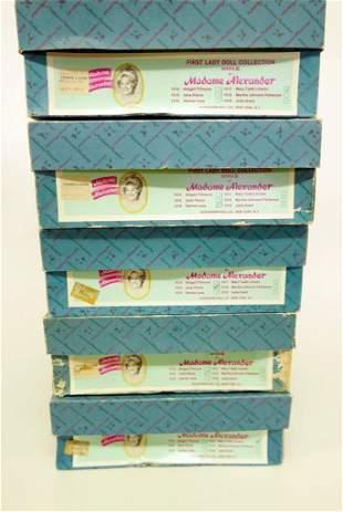 Madame Alexander First Ladies Series III Original Box