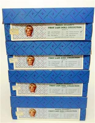Madame Alexander First Ladies Series IV original box