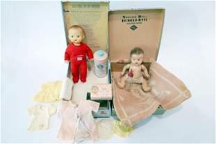 Vicki Vanta & Nursing Doll in original boxes
